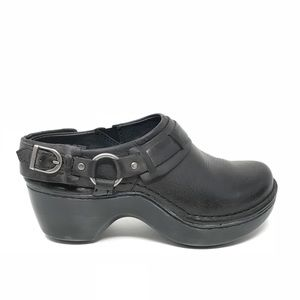 Ariat 6 Abberley Clog Shoe Black Leather Harness